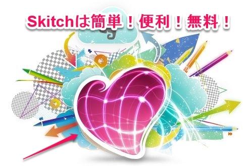 Skitch(インストール編)~画像に矢印や文字を入れたいならコレ~