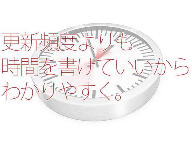 ブログは「記事書く時間>更新頻度」で最初はおk