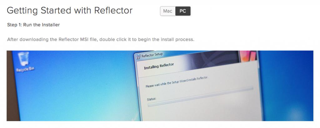 Reflector無料版2