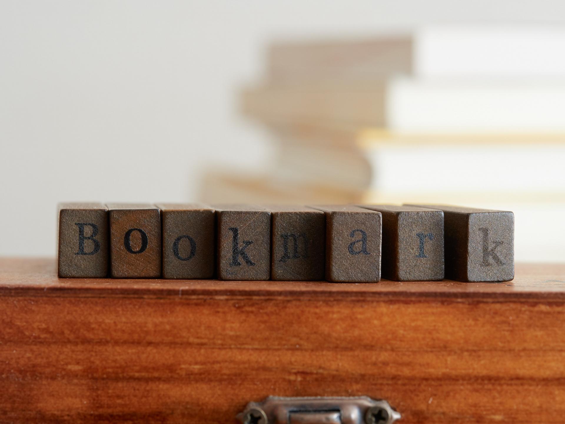ブラウザ別ブックマークバーの表示方法